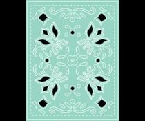 LDRS Creative Folk Art A2 Cover Plate Dies (LDRS8222)
