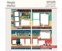 Simple Stories Simple Pages Kit Family Fun (15626)