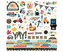 Simple Stories Family Fun Cardstock Sticker (15601)