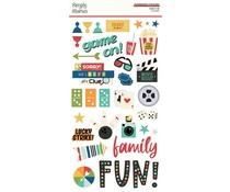 Simple Stories Family Fun Chipboard (15614)