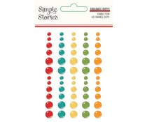 Simple Stories Family Fun Enamel Dots (15621)