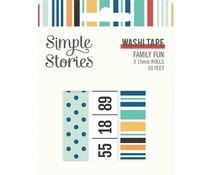 Simple Stories Family Fun Washi Tape (15622)