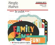 Simple Stories Family Fun Journal Bits (15616)