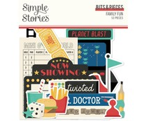 Simple Stories Family Fun Bits & Pieces (15615)