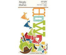 Simple Stories Simple Pages Pieces Howdy! (15423)