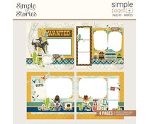Simple Stories Simple Pages Kit Wanted (15424)