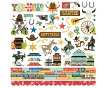 Simple Stories Howdy! Cardstock Sticker (15401)