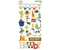 Simple Stories Howdy! Chipboard (15414)