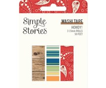 Simple Stories Howdy! Washi Tape (15420)