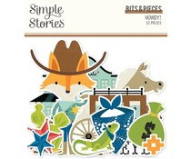 Simple Stories Howdy! Bits & Pieces (15415)