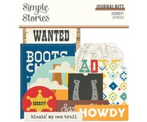Simple Stories Howdy! Journal Bits (15416)