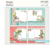 Simple Stories Simple Pages Kit Beachy (12736)