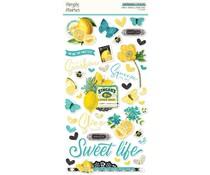 Simple Stories Simple Vintage Lemon Twist Chipboard (15220)