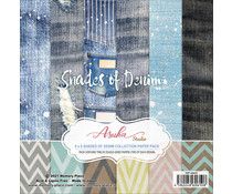 Memory Place Shades of Denim 6x6 Inch Paper Pack (MP-60610)