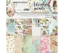 Memory Place Adventure Awaits 12x12 Inch Paper Pack (MP-60592)