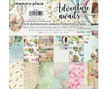 Memory Place Adventure Awaits 6x6 Inch Paper Pack (MP-60599)