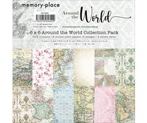 Memory Place Around the World 6x6 Inch Paper Pack (MP-60609)