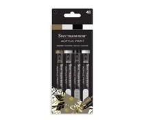 Spectrum Noir Acrylic Paint Markers Essential (4pcs) (SN-ACPM-ESS4)