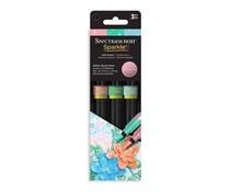 Spectrum Noir Sparkle Brush Pens Soft Pastels (3pcs) (SPECN-SPA-SPT3)