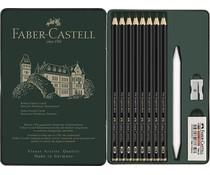 Faber Castell Pitt Graphite Matt Set Tin of 11 (FC-115220)