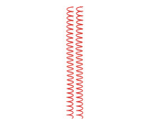 We R Memory Keepers Cinch Wire 0.625 Inch Spiral Red (4pcs) (60000235)