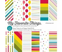 My Favorite Things Party Time 6x6 Inch Paper Pad (EP-81)