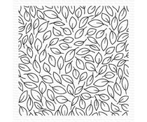 My Favorite Things Little Leaves Background Rubber Stamp (BG-148)