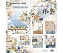 Memory Place Kawaii Paper Goods Kit Hello 12x12 Inch Paper Pack (MP-60611)
