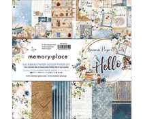Memory Place Kawaii Paper Goods Kit Hello 6x6 Inch Paper Pack (MP-60612)