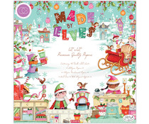 Craft Consortium Made by Elves 12x12 Inch Paper Pad (CCPPAD029)