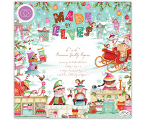 Craft Consortium Made by Elves 6x6 Inch Paper Pad (CCPPAD029B)