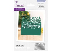 Gemini Merry Christmas Edge'able Die (GEM-MD-EDG-MECH)