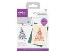 Crafter's Companion Season's Greetings Tree Clear Stamps (CC-STP-SEGE)