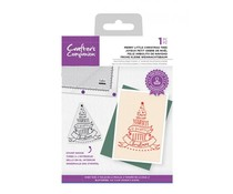 Crafter's Companion Merry Little Christmas Tree Clear Stamps (CC-STP-MLCH)