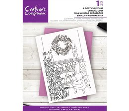 Crafter's Companion A Cosy Christmas Clear Stamps (CC-ST-CA-COSYCHR)
