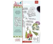 Crafter's Companion Gnomes Clear Stamps Gnome Village (NG-GN-ST-GVILL)
