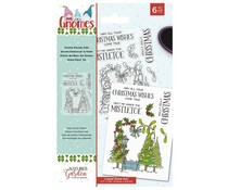 Crafter's Companion Gnomes Clear Stamps Gnome Kissing Gate (NG-GN-ST-GKISS)