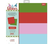 Crafter's Companion Gnomes 12x12 Inch Pearlescent Card Pad (NG-GN-PAD12-P)