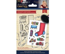 Crafter's Companion Twas the Night Before Christmas Stamp & Die Build-A-Stocking (S-TNBC-STD-BAST)