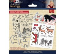 Crafter's Companion Twas the Night Before Christmas Stamp & Die Build-A-Sleigh (S-TNBC-STD-BASL)