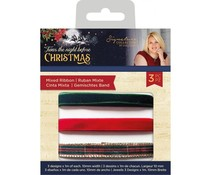 Crafter's Companion Twas the Night Before Christmas Mixed Ribbon (S-TNBC-RIBBON)