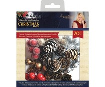 Crafter's Companion Twas the Night Before Christmas Festive Embellishments (S-TNBC-FESTEMB)