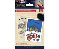 Crafter's Companion Twas the Night Before Christmas Clear Stamps St. Nicholas (S-TNBC-ST-SNICH)
