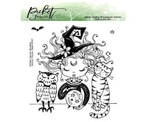 Picket Fence Studios Hocus Pocus Dear 4x4 Inch Clear Stamps (D-107)