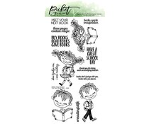 Picket Fence Studios Your Next Book Dear 4x8 Inch Clear Stamps (D-105)