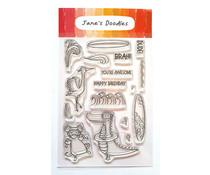 Jane's Doodles Surf's Up Clear Stamps (JD0184)