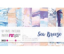 Papers For You Sea Breeze Canvas Scrap Pack (8pcs) (PFY-3385)