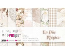 Papers For You Ninas Un Dia Magico Canvas Scrap Pack (8pcs) (PFY-3634)