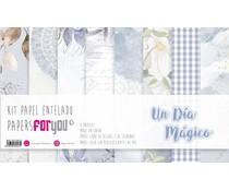 Papers For You Ninos Un Dia Magico Canvas Scrap Pack (8pcs) (PFY-3643)