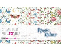 Papers For You Magic Nature Vellum Paper Pack (6pcs) (PFY-4216)